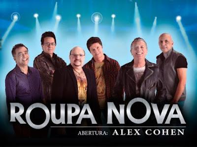 Roupa Nova fará show marcante em Campina Grande