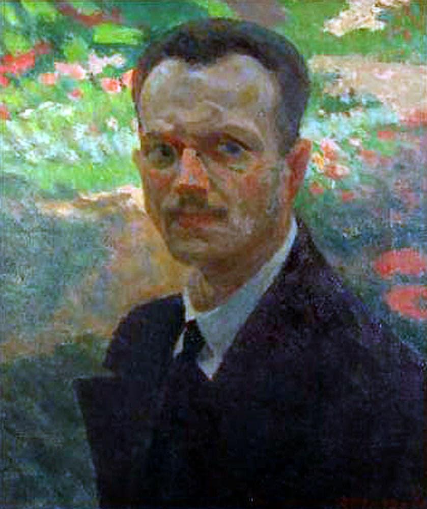 Renato Marzola Arrigo,Self Portrait, Portraits of Painters, Renato Marzola, Fine arts, Painter Renato Marzola Arrigo