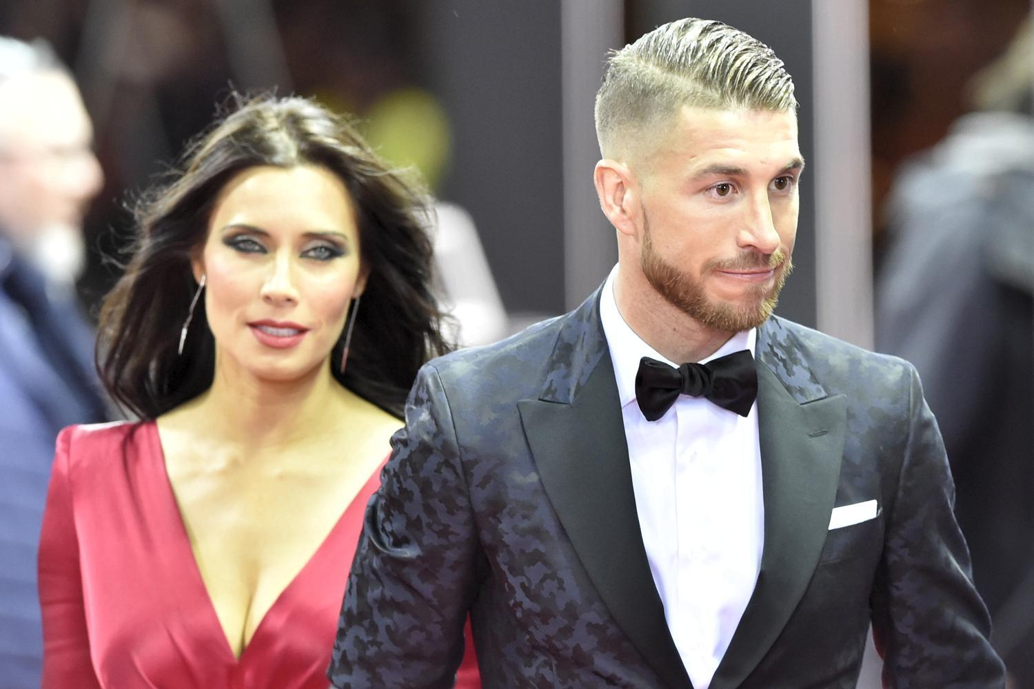 Spanish Captain Sergio Ramos and his Spanish Reporter wife ...
