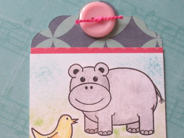 Tweet Tag with Stamps of Life Stamp Set