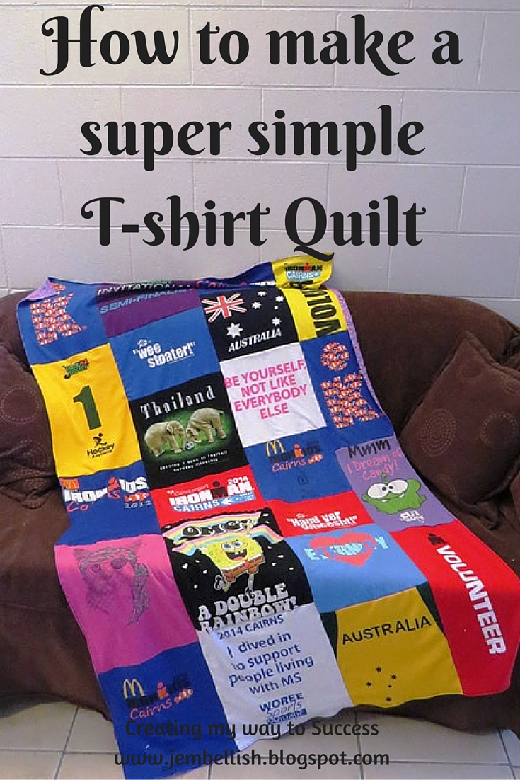 creating my way to success  how to make a super simple t