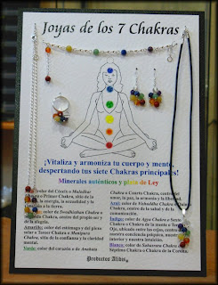 colgantes, colores, chakras, espiritual, bisutería, mágico