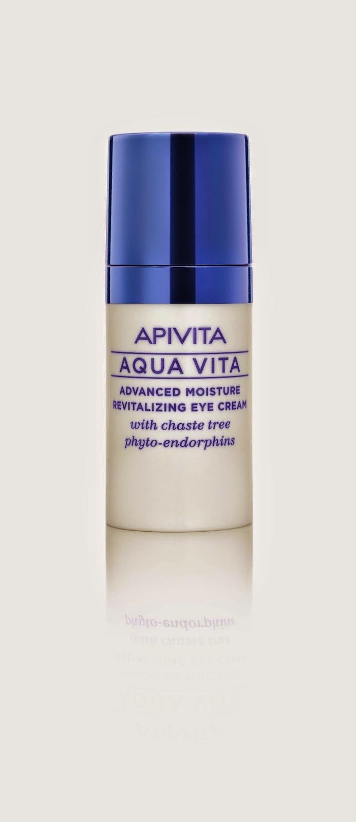 Aqua Vita de Apivita Crema Hidratante Y Revitalizante Avanzada Para El Contorno De Los Ojos - Blog de Belleza Cosmetica que Si Funciona