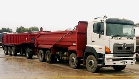 truk tronton hino besar dan jumbo