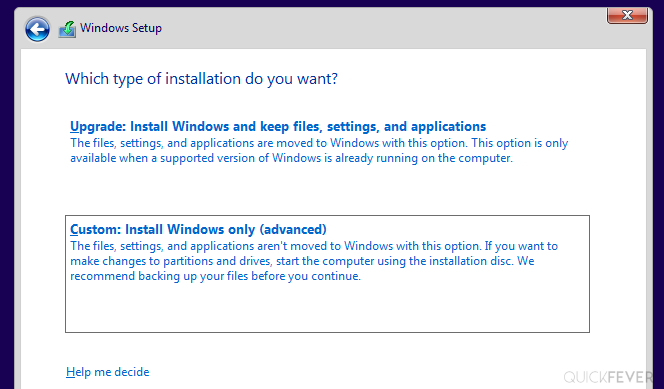 Clean install window 10 guide