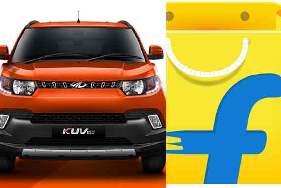 Mahindra KUV100 online sale on Flipkart