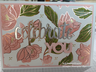 Springtime Foils with Stampin Write Markers