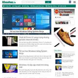 template blogspot miễn phí đẹp