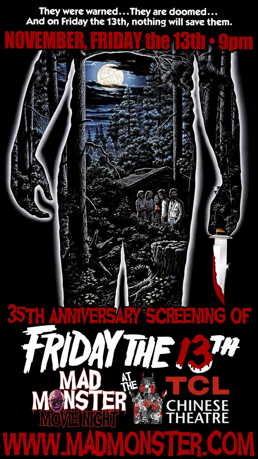 Friday The 13th 1980 Screening At Historic TCL Chinese Theatre