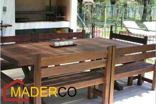 Mesas y sillas para restaurantes precios maderco peru for Mesas de restaurante precios