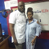 Media personality, Dolapo Oni-Sijuwade shows off growing baby bump in dress shirt (photo)