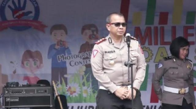 Begini Cara Polda Banten Sosialisasi Tertib Lalu Lintas Dikalangan Generasi Millenial