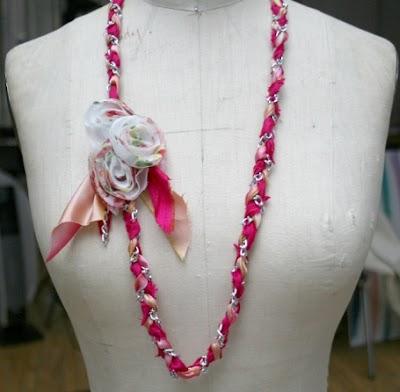 Como hacer el Collar de moda primavera