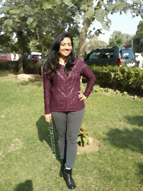 Indian fashion blog, skinny jeans, ankle boots