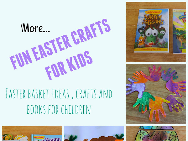 More Fun Easter Crafts for Kids