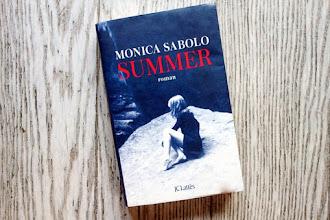 Lundi Librairie : Summer - Monica Sabolo