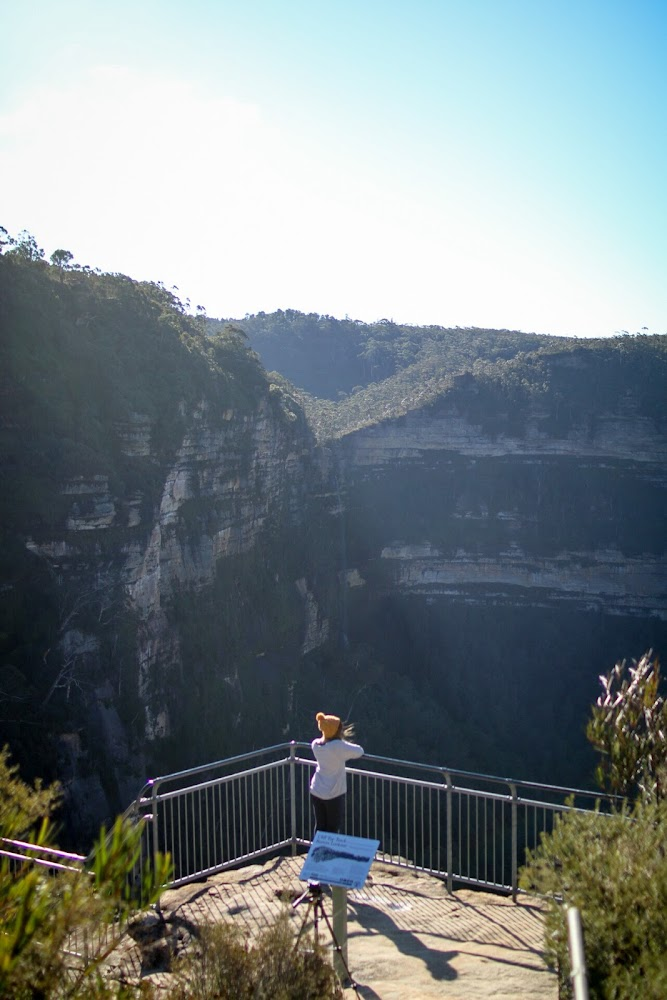Barrow Lookout Blue Mountains NSW Hiking Travel