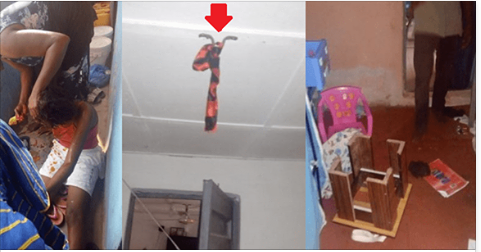A Nigerian man identified as Kenny, has revealed how he saved his wife from committing suicide, after she spent the money for their house rent he kept with her. Below is what the man shared on social media.