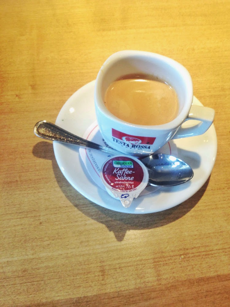 Coffee at the Berghotel Schmittenhohe in Zell am See, Austria