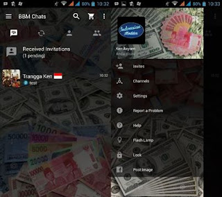 Download BBM MOD MONEY v 2.12.11.0.18 Terbaru Gratis