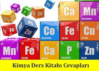 9. Sınıf Kimya Meb Yayınları Ders Kitabı Cevapları