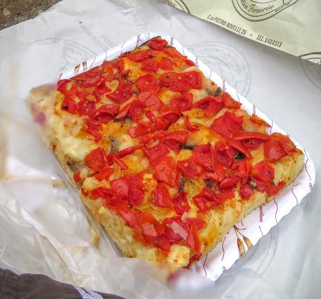 Sicilian Food - focaccia