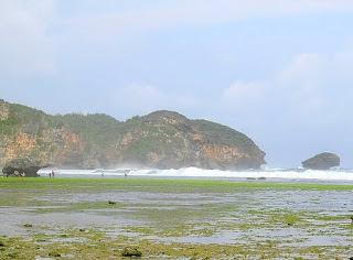 keindahan pantai watu kodok
