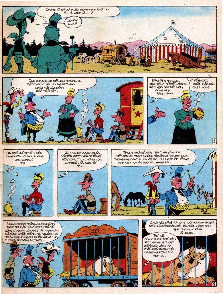 Lucky Luke tap 17 - ganh xiec mien vien tay trang 3
