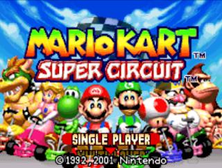 瑪莉歐賽車 Mario Kart GBA