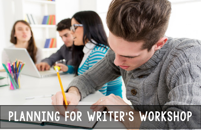 How do you plan for writer's workshop in the secondary classroom?