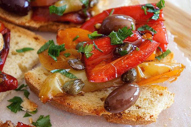 Πιπεριές στο Τηγάνι με Κάπαρη