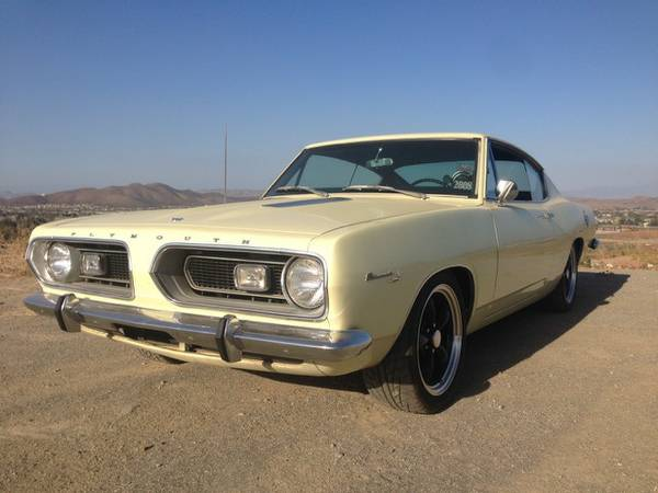 1967 Plymouth Barracuda 440