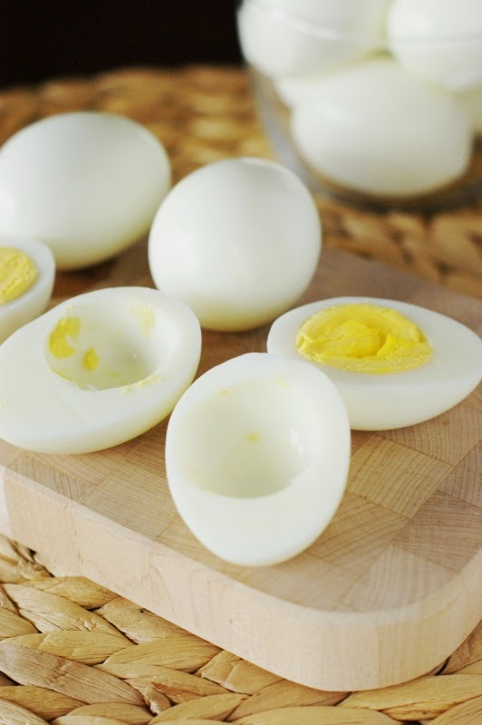 Making Southern Deviled Eggs