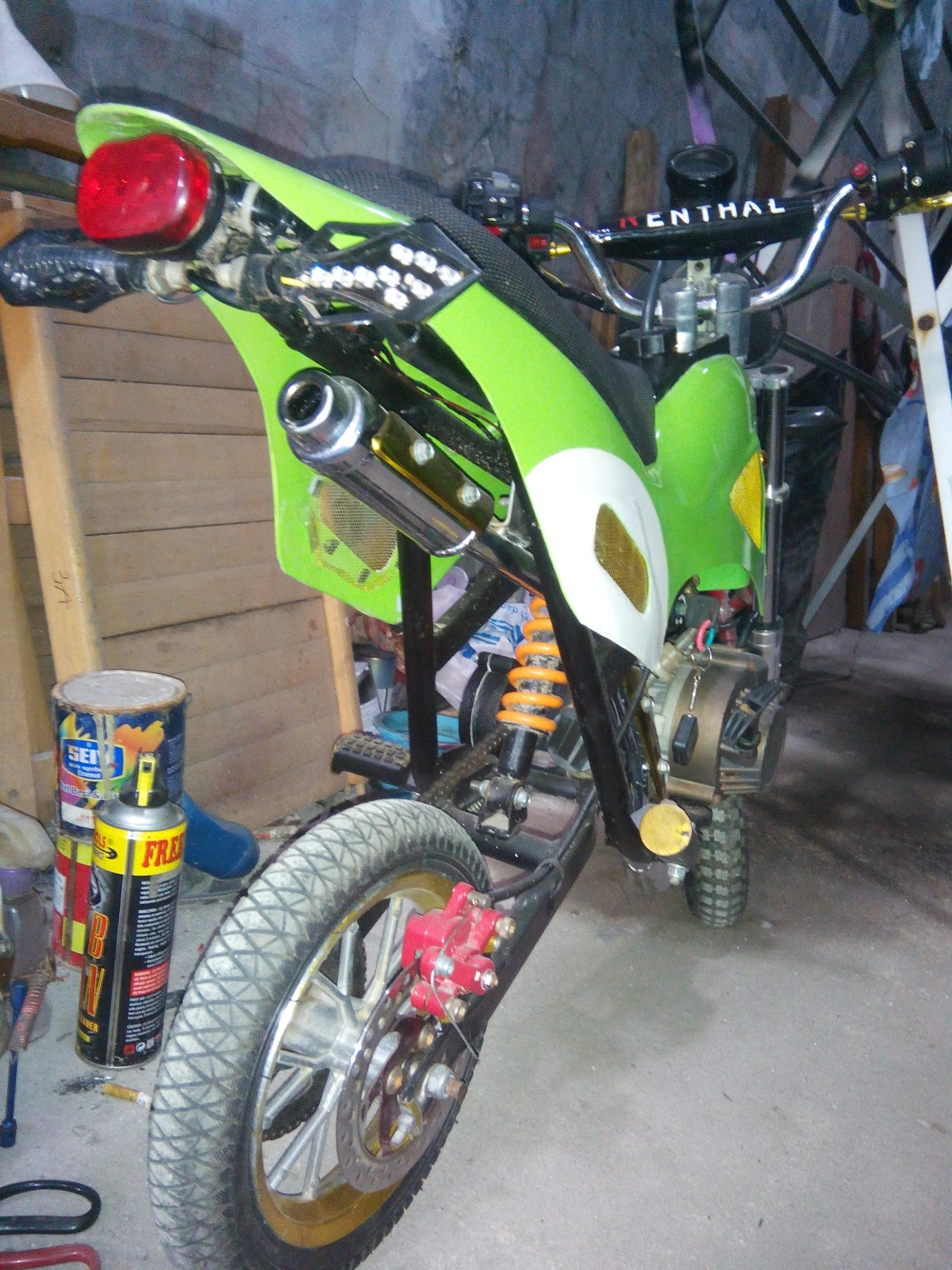 Modif Motor Bebek Jadi Mini Trail : modif, motor, bebek, trail, Koleksi, Modifikasi, Motor, Trail, Terlengkap, Velgy