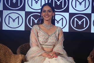 Manuushi Chillar in Stunning Cream Lehenga Choli