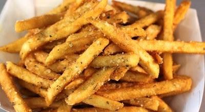 Cara membuat kentang goreng renyah dan garing