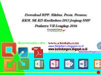 Download RPP, Silabus, Prota, Prosem, KKM, SK KD Kurikulum 2013 Jenjang SMP Prakarya VII Lengkap 2016