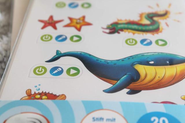 Sticker tiptoi create stift mit aufnahmefunktion weihnachtsgeschenkidee 2