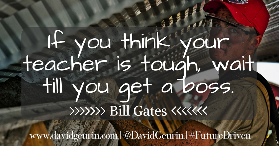 The @DavidGeurin Blog: Build Relationships and Be Relentless
