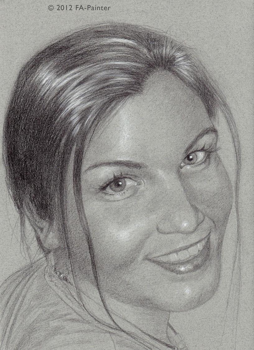 FA Painters BBW Art: Lailani BBW face
