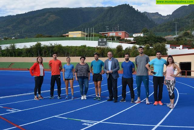 La isla de La Palma aspira a ser destino de invierno para los entrenamientos de deportistas de primer nivel