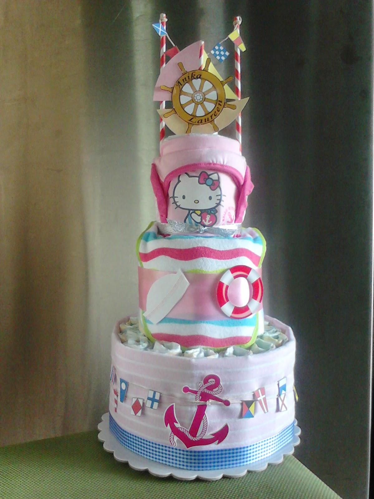 Manila Baby 3 Tier Diaper Cakes