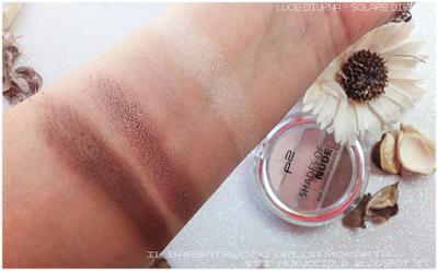 recensione palette makeup p2 cosmetics