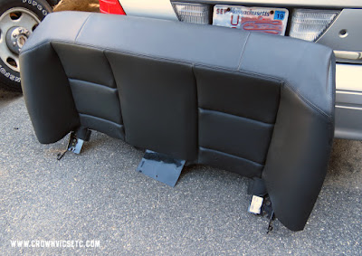 Ford Police Interceptor Sedan Seat Cushion