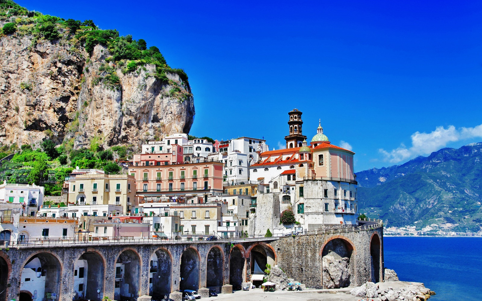Rewallpaper Amalfi Coast Road Beautiful And Amazing