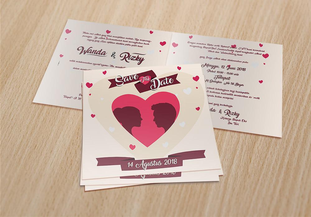 Jual Undangan Pernikahan
