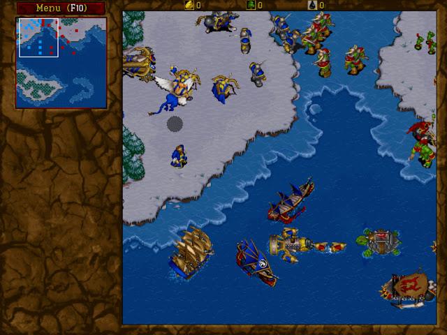 Warcraft 2 Intro Screenshot