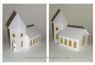 Wesens Art Papier Kirche Paper Church