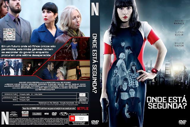 Capa DVD Onde Está Segunda? [Custom]