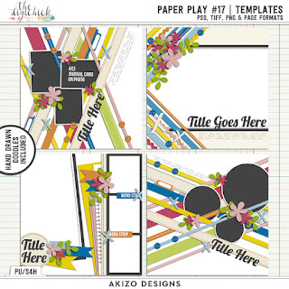Paper Play17 by Akizo Designs